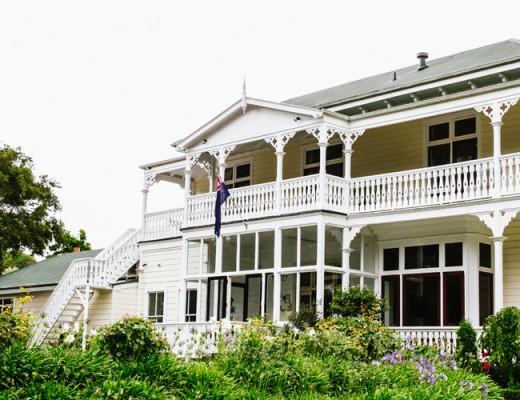 Ormlie Lodge outside