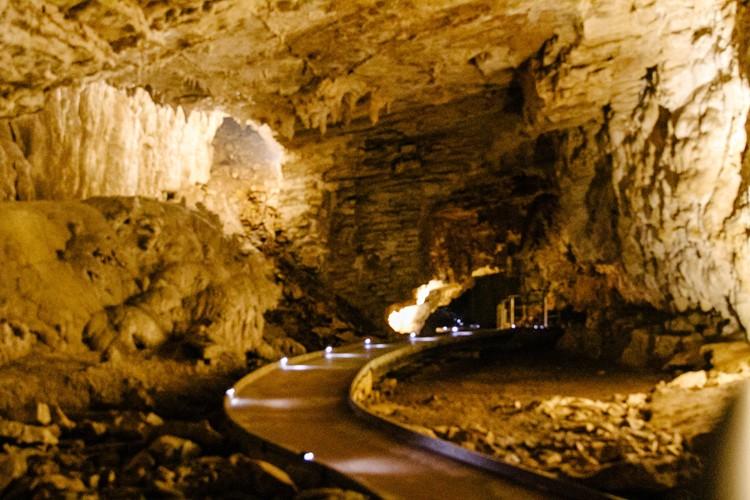Waitomo 22 cave walkway