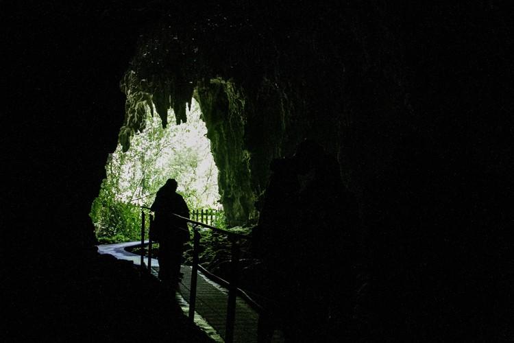 Waitomo 27 end of cave