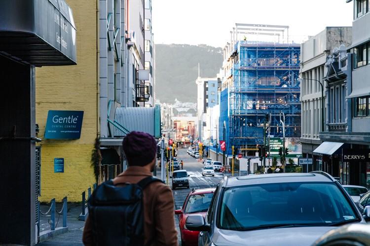 Wellington 02 morning street