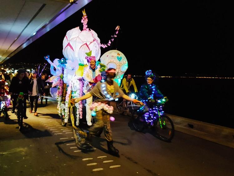 Wellington Light parade