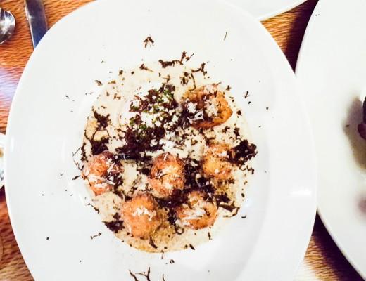 Whitebait 06 truffle gnocchi